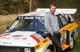"""KTU Medžiagų inžinerijos absolventas iš nuotraukų atkūrė legendinio ralio automobilio """"Audi sport quattro S1"""" kopiją"""