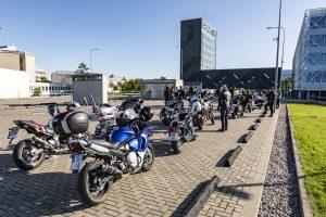 KTU bendruomenė susibūrė išskirtiniame renginyje – motociklų kelionėje per Lietuvą